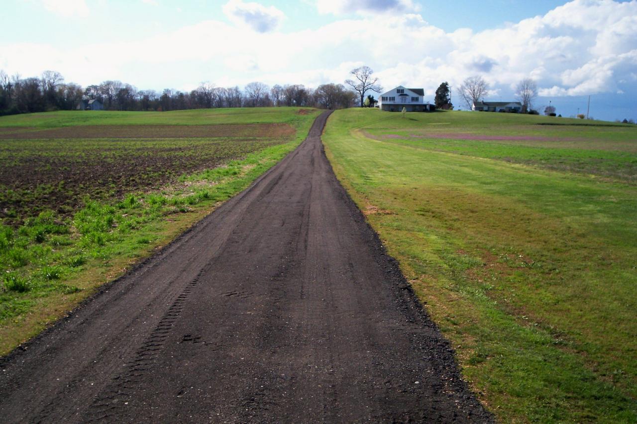 As Metal Slag Driveway : Asphalt aglyn number four llc